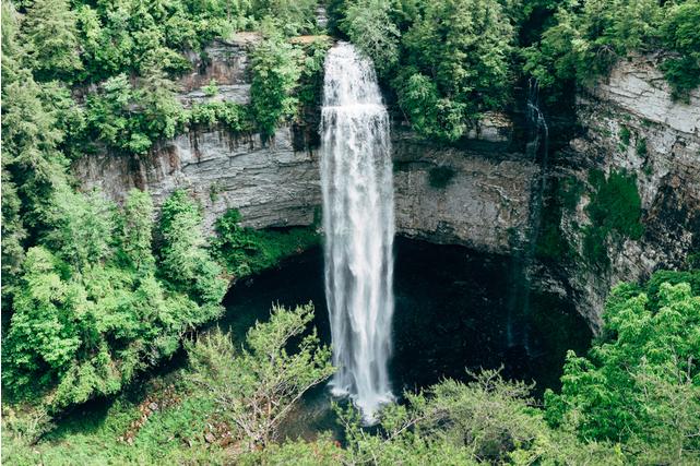 Fall Creek Falls - Best hiking trails in Tennessee