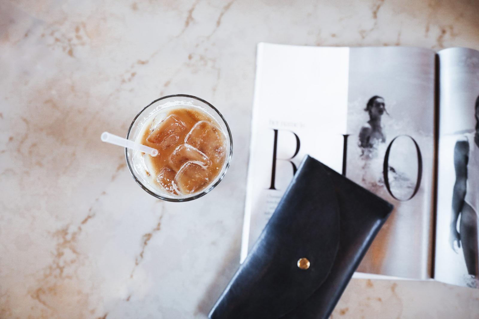 The best iced latte coffee in Nashville, TN