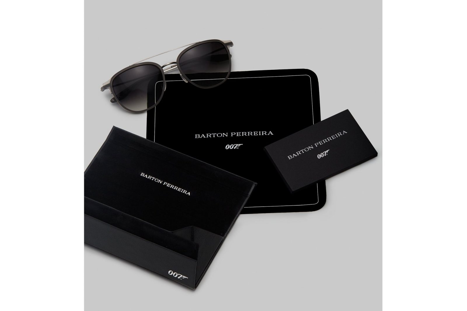 Barton Perreira James Bond 007 sunglasses gift card for the man in your life