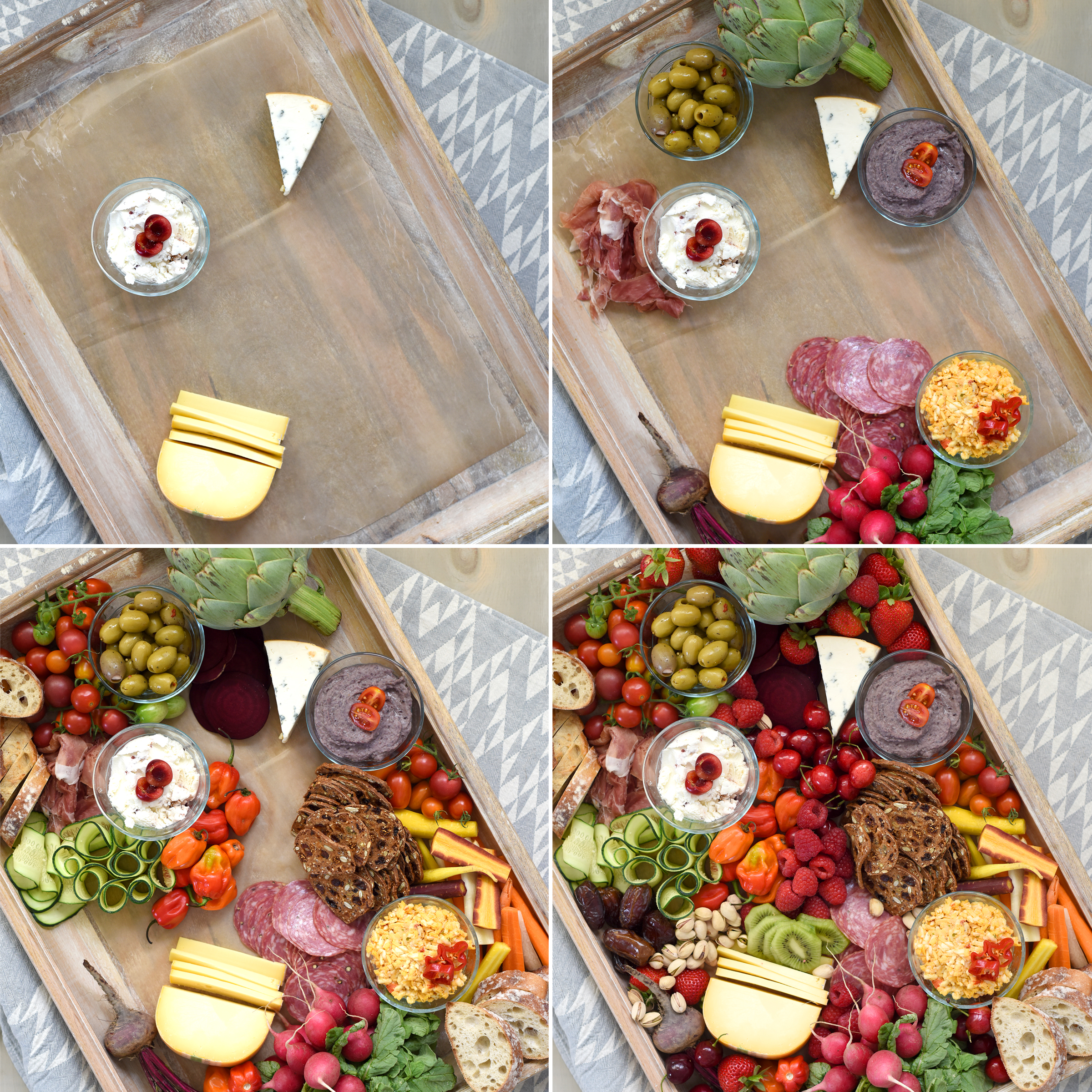 Summer charcuterie board - how to make