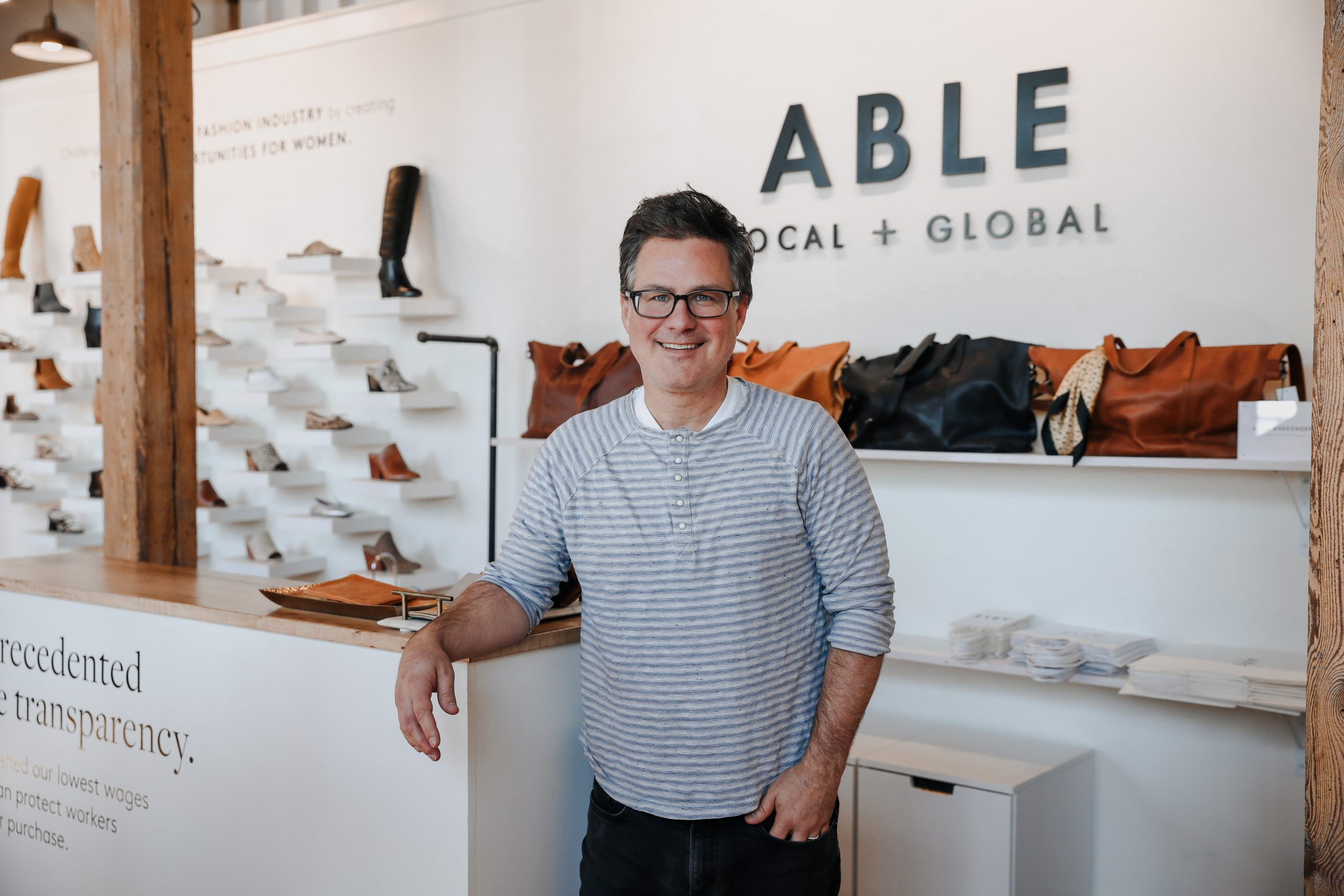 Brett Ward, founder of ABLE Nashville -A brand working to improve women's lives