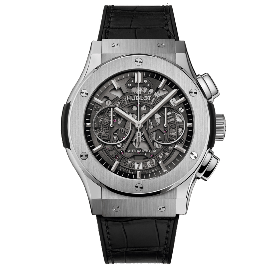 Hublot Classic Fusion Aerofusion Titanium watch for the guys who love arm candy