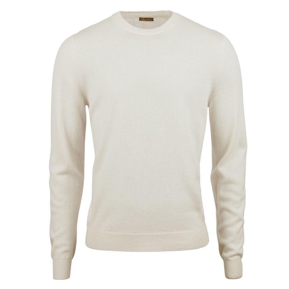 Stenstroms Off-White cashmere Crewneck Sweater for men.