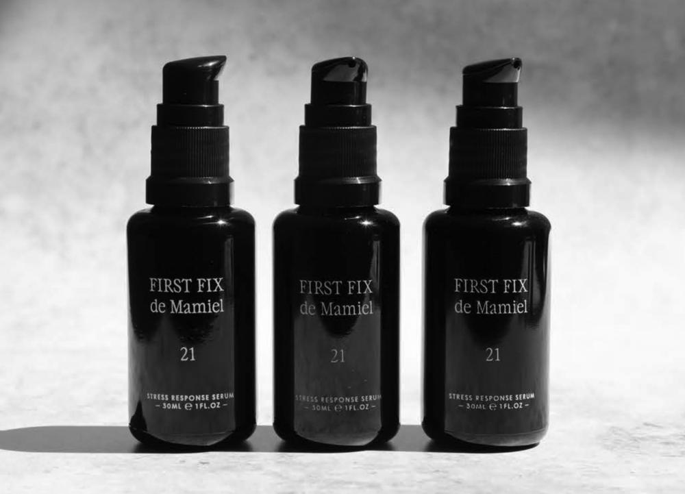3 black perfume bottles with designer fragrances for your luxury.
