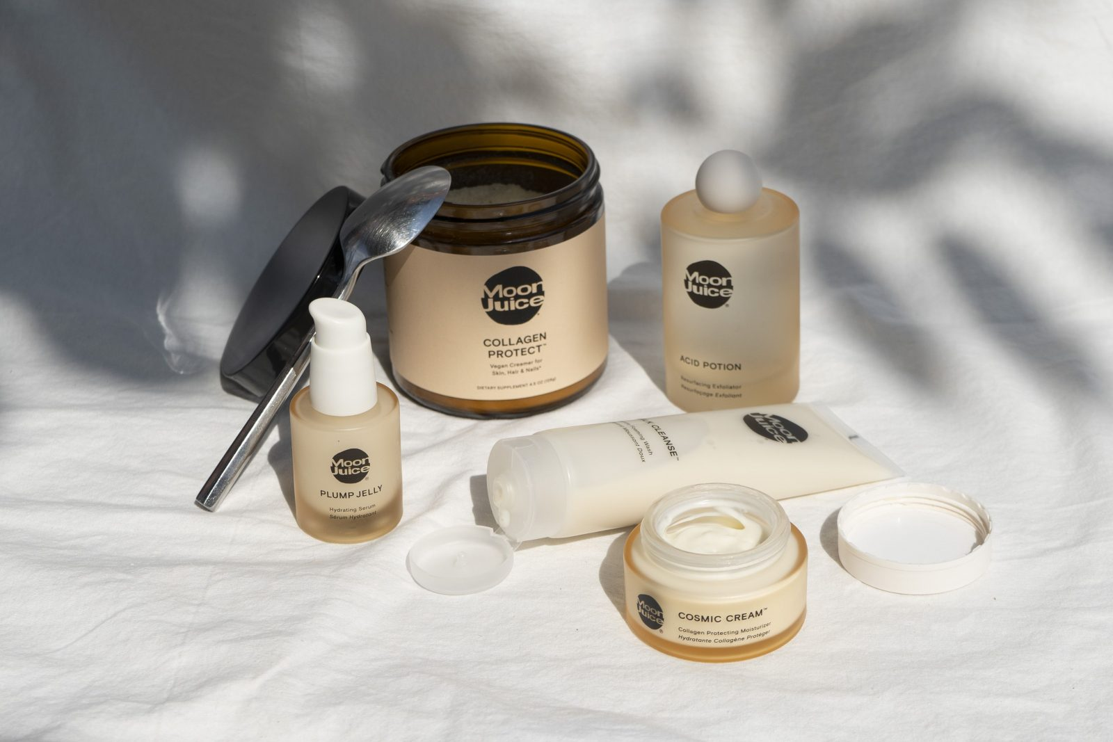 Moon Juice skincare products featured in The Nashville Edit
