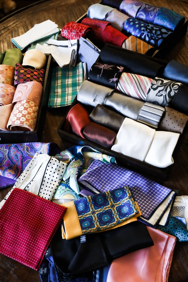 fletcher's tie and pocket square collection