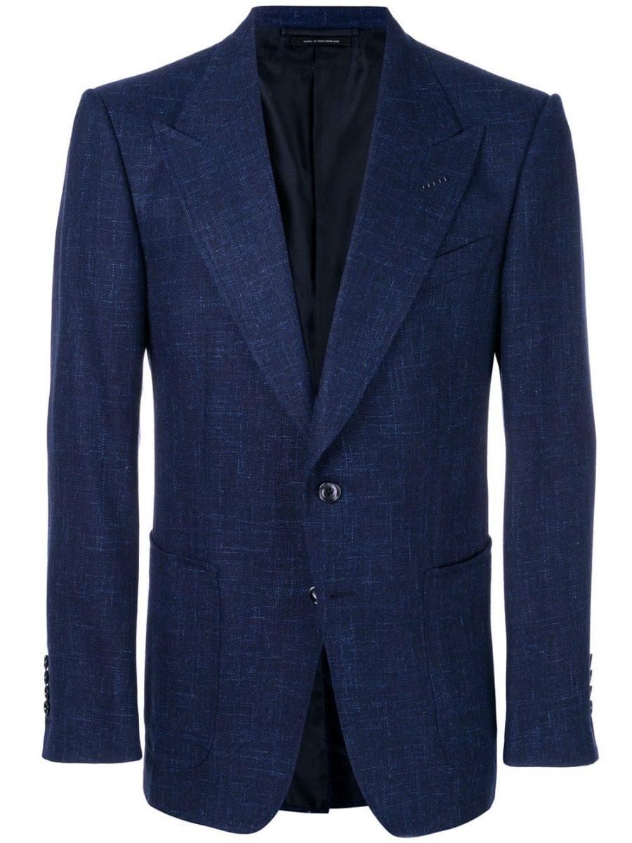 Tom Ford classic navy blue blazer at nordstrom