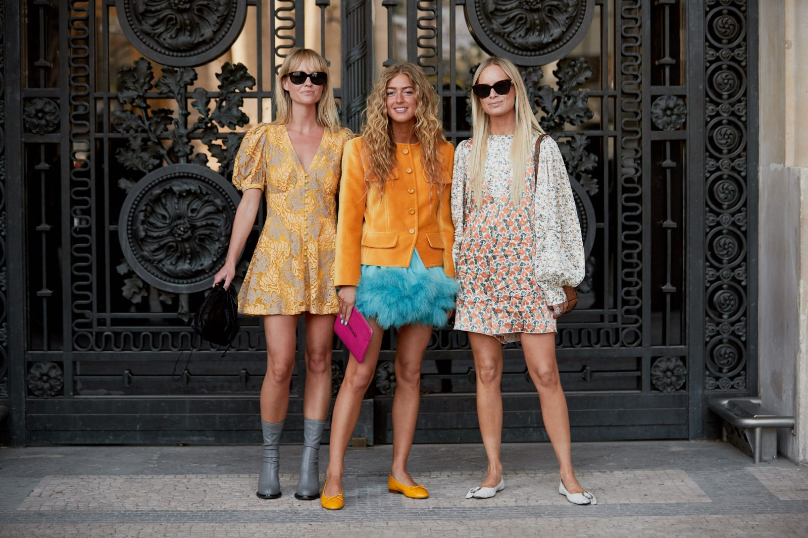 bright and the bold of paris fashion week