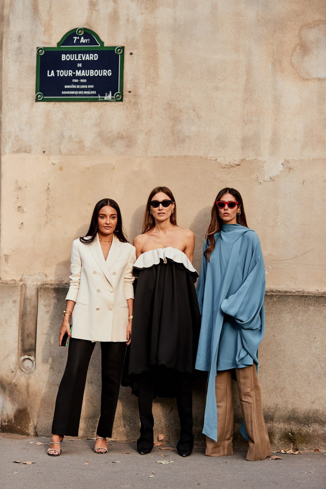 3 more models from s/s paris fashion week