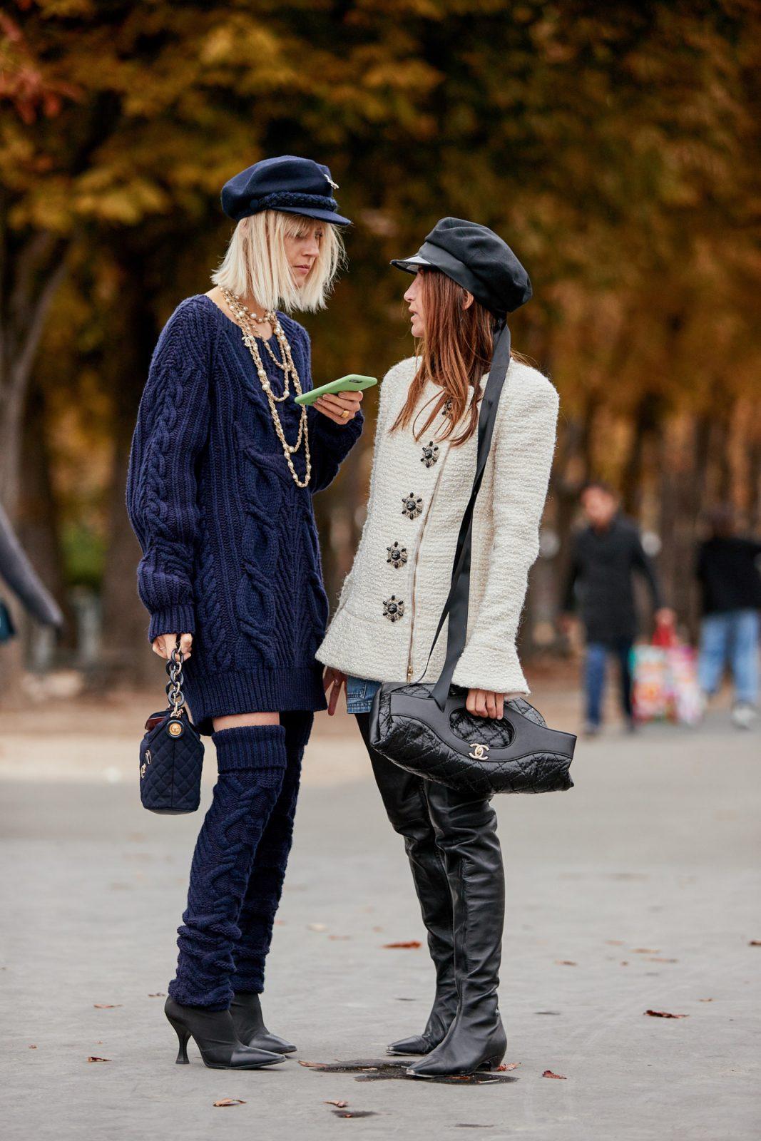 Paris fashions for winter