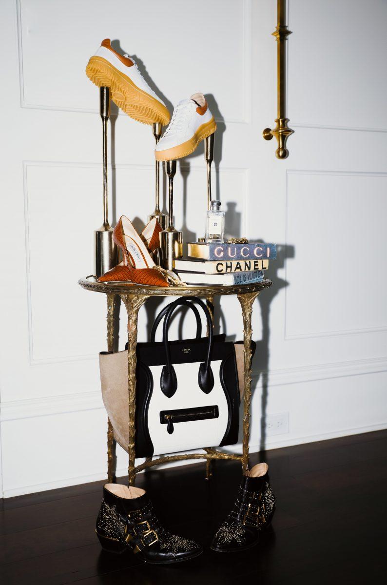 Closet Envy accessory setup