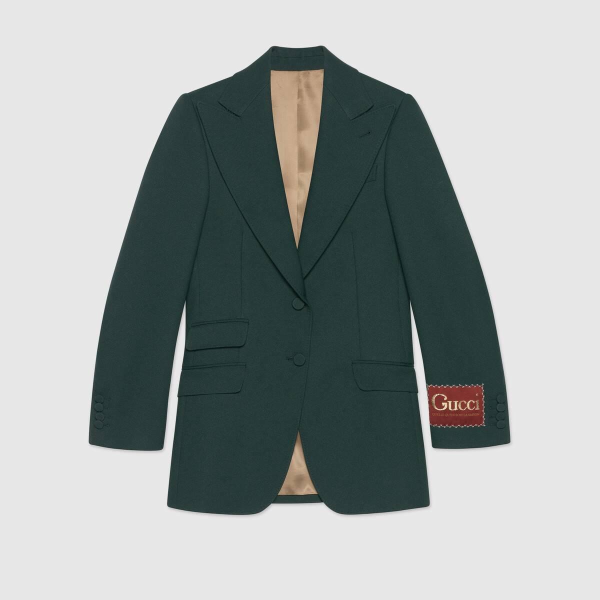 Green gucci jacket at Green Hills Mall