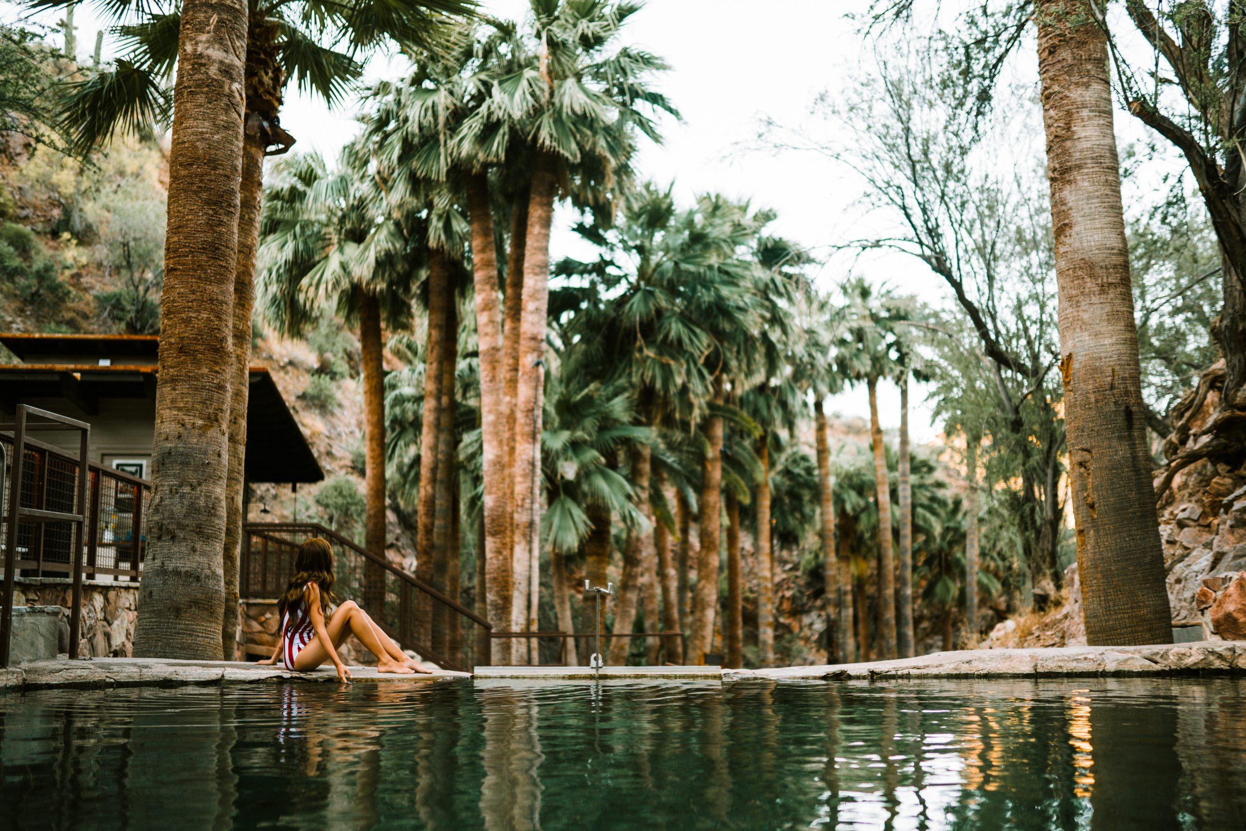 Castle Hot Springs in the Sonoran Desert, Arizona