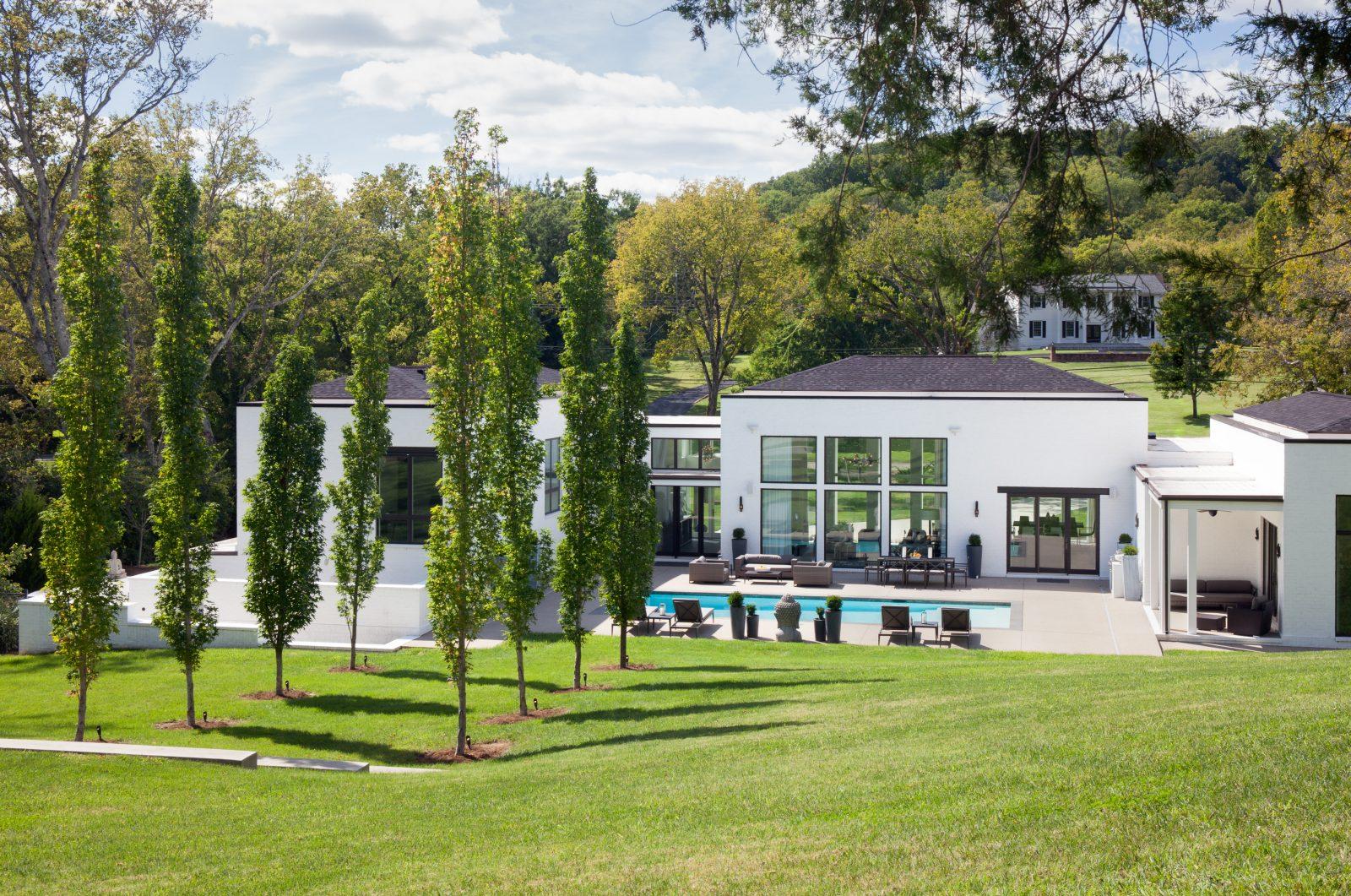 Luxury backyard livingspace