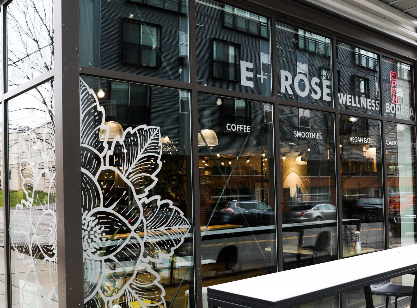 E+Rose Wellness cafe in Wedgewood-Houston