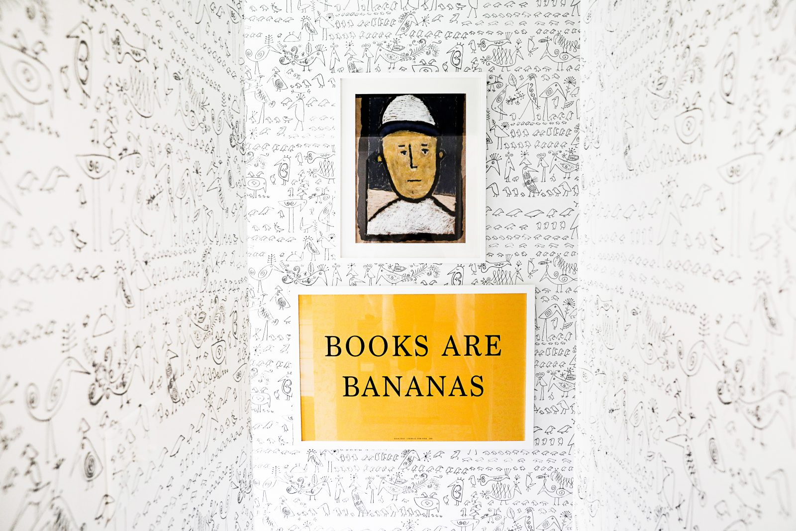 Books are Bananas sign