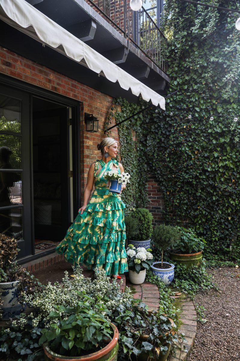 Gen Sohr green garden aesthetic featured in the Nashville Edit