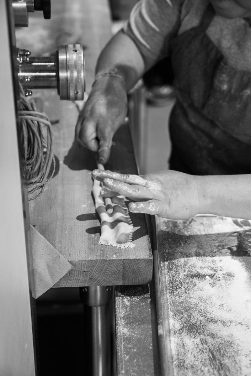 Making Culaccino's ravioli