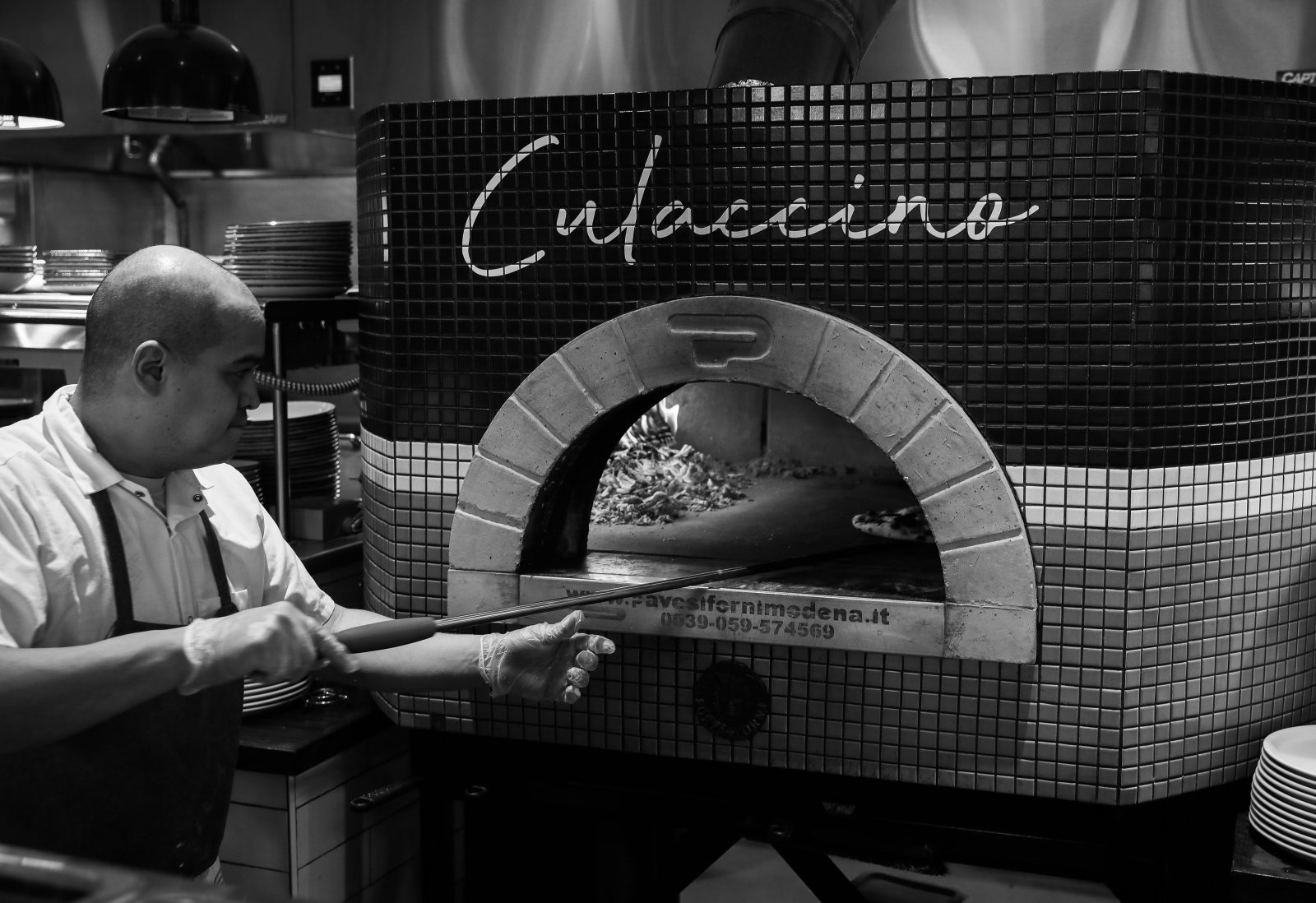 Culaccino's wood fired pizza oven
