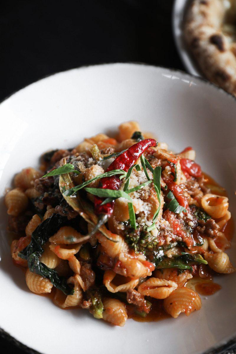 orecchiette dish from Culaccino in downtown Franklin TN