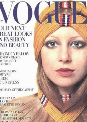 Vogue cover with Pattie Boyd, Kelleigh's inspiration