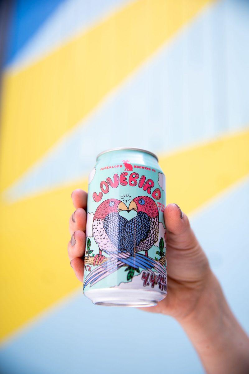 Lovebird Seasonal Brew from Jackalope Brewery in Nashville, TN