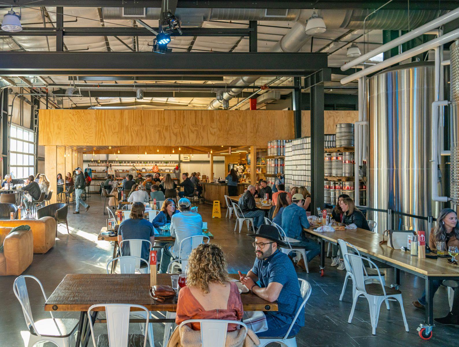 The Jackalope Brewery on Houston St in Nashville, TN