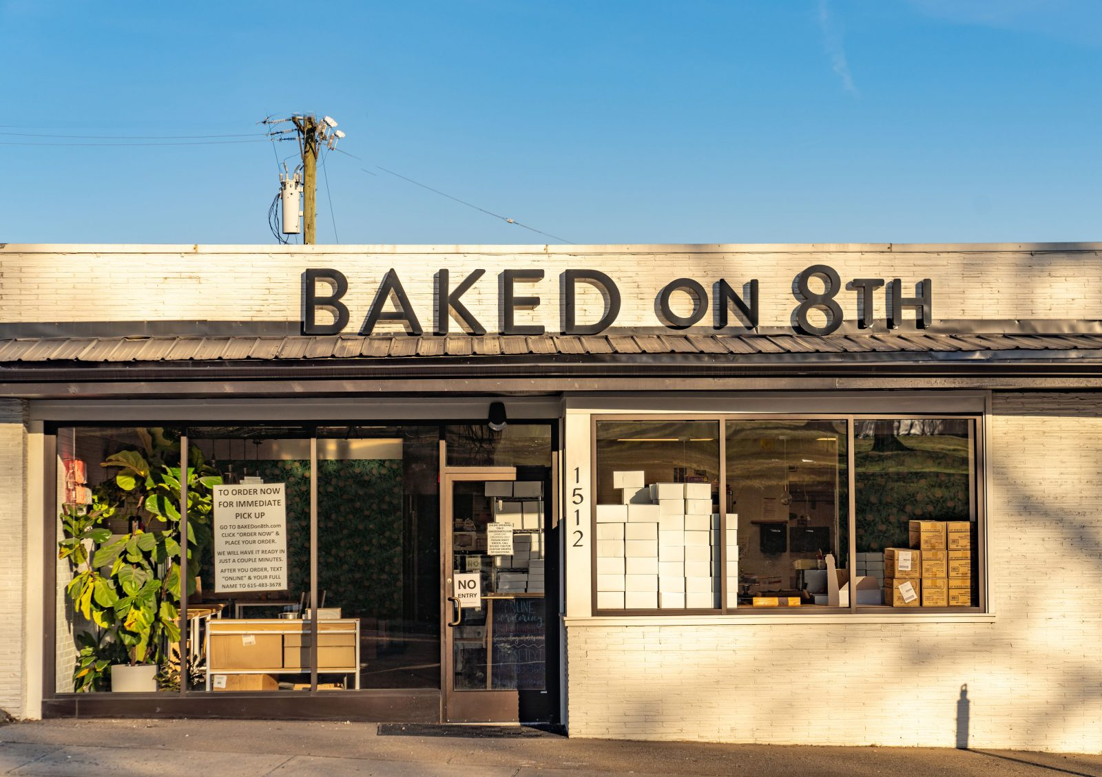 Laura Lea Bryant's recommendation for the bakery Baked on 8th.