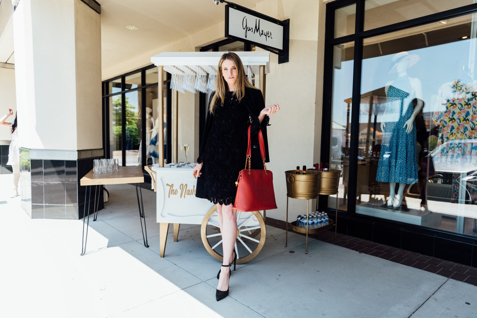 Vintage trunk show at Gus Mayer, story by The Nashville Edit