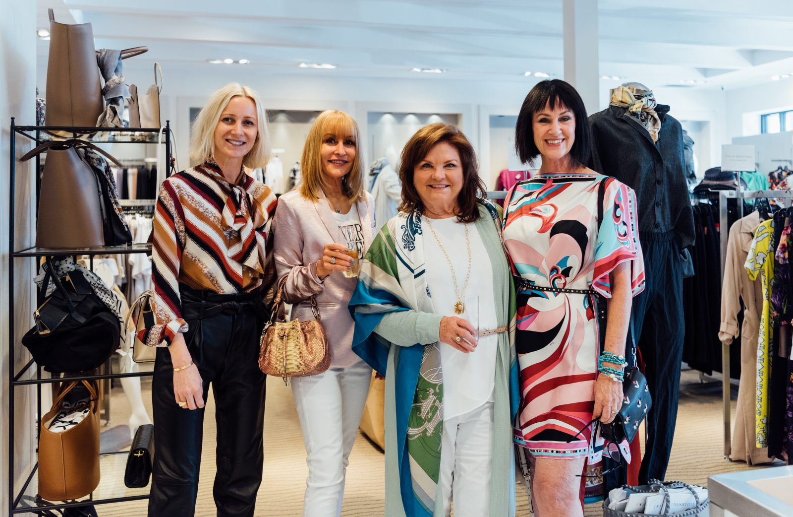 Gus Mayer team behind the Chanel Vintage bag event