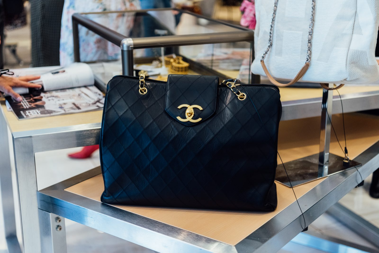Chanel bags highlighting the collection from Gus Mayer