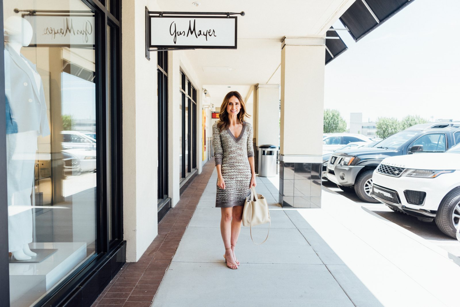 Mary Kathryn Hudson visits the Gus Mayer vintage showcase