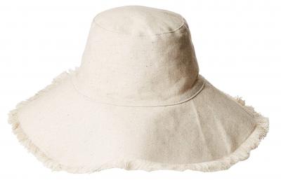 Natural cotton packable hat
