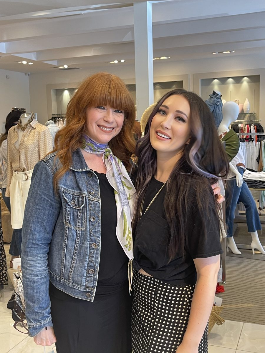 Conversations over Chanel products with Colleen Runne and Aubrey Sellers