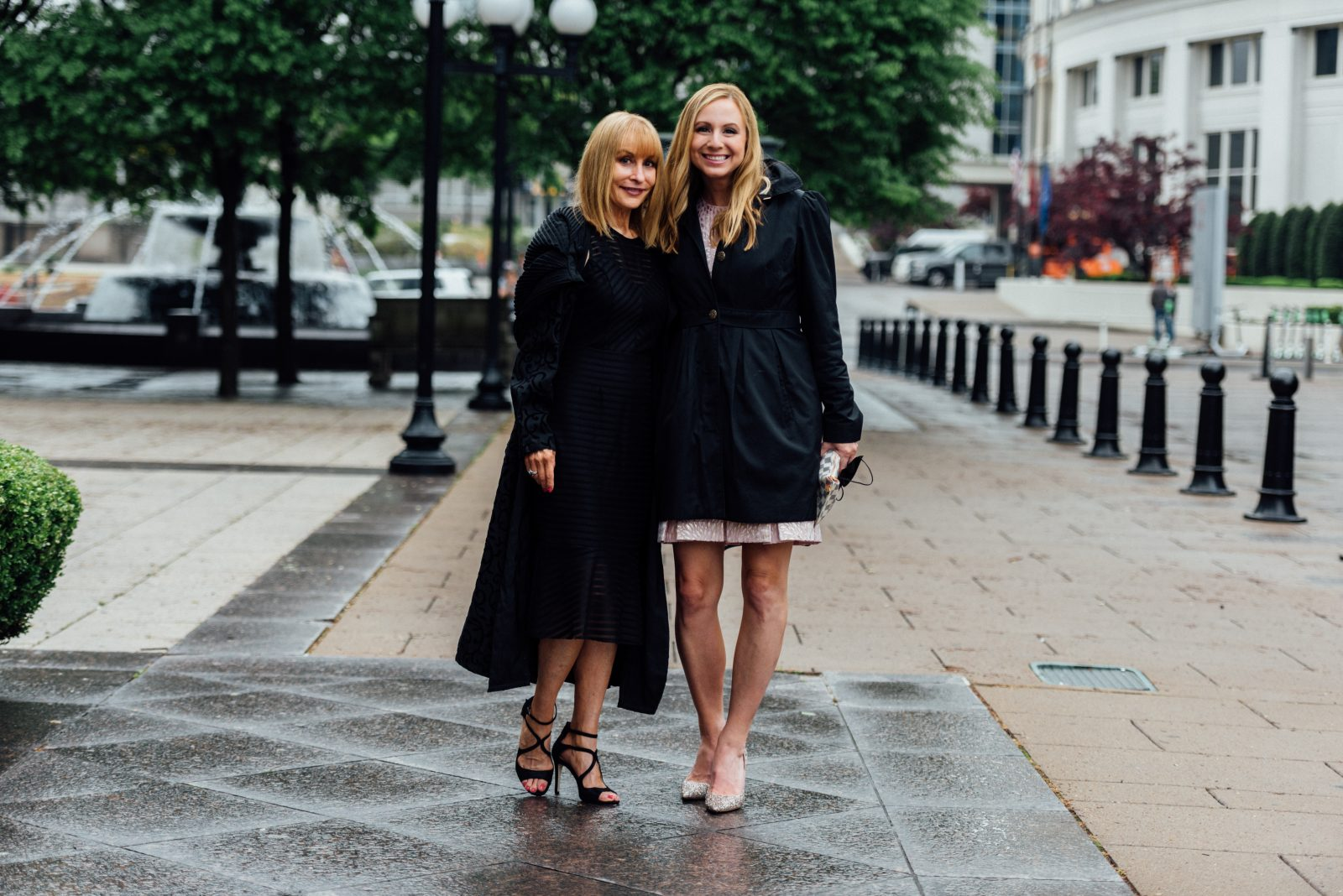Styling in the rain with Stacey Rhodes and Danielle Breezy