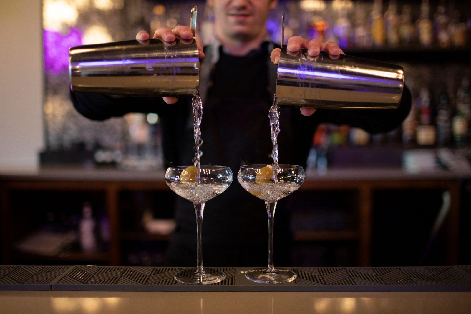 Mixed drinks at Happenstance Social Lounge, Nolensville TN
