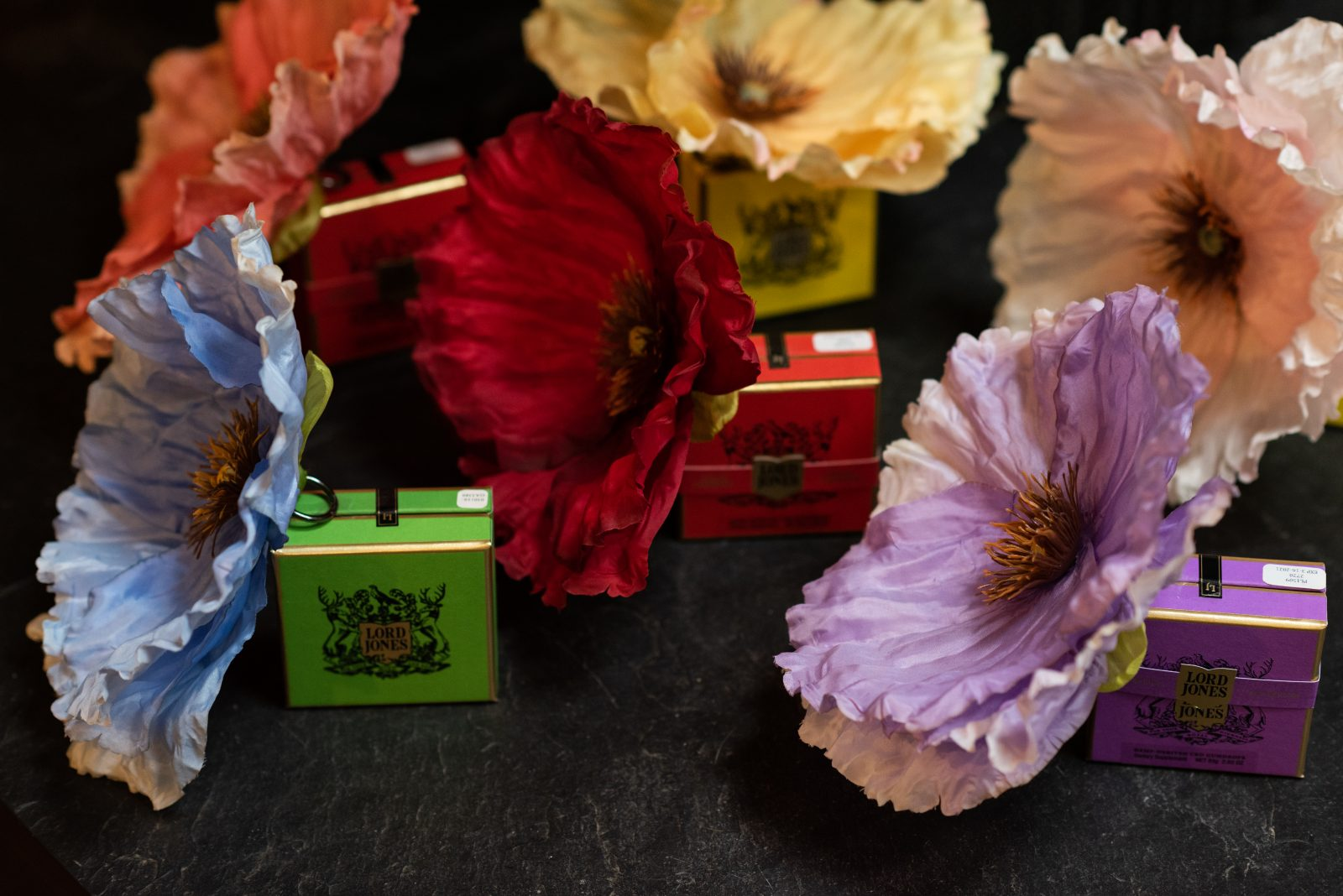 Flower party favors