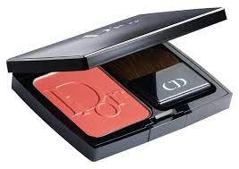 Dior Blush in New Red 809 vintage makeup color