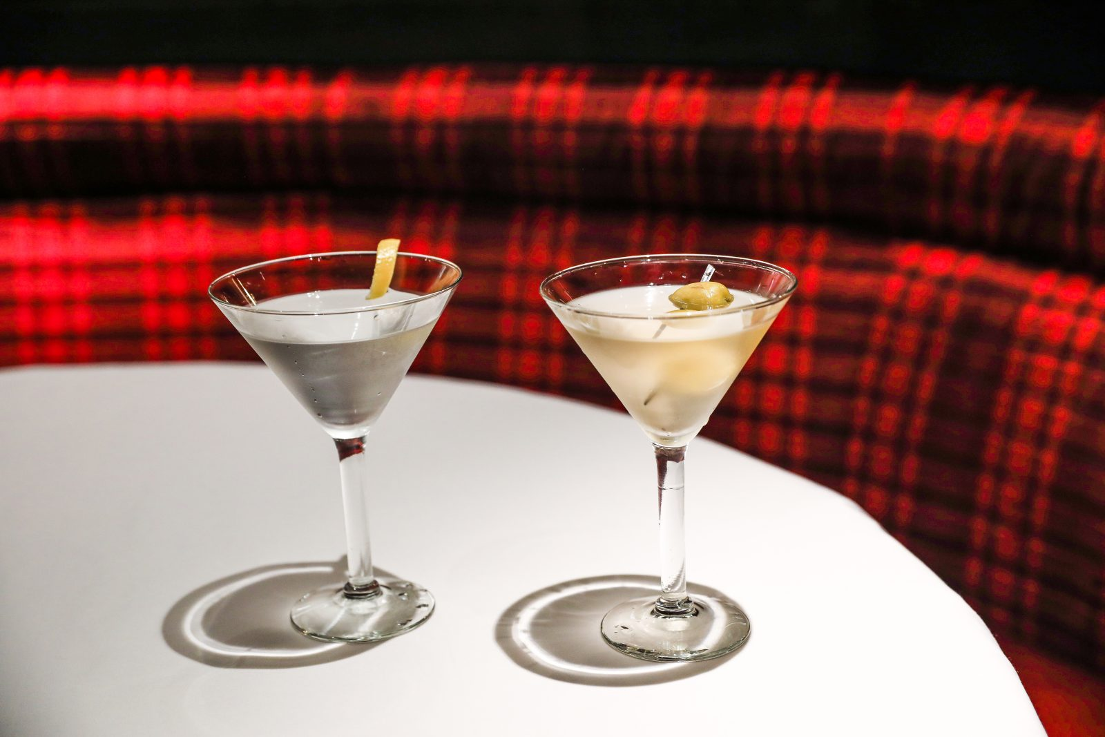 Olive martinis by the Omni Hotel & Resorts Catering