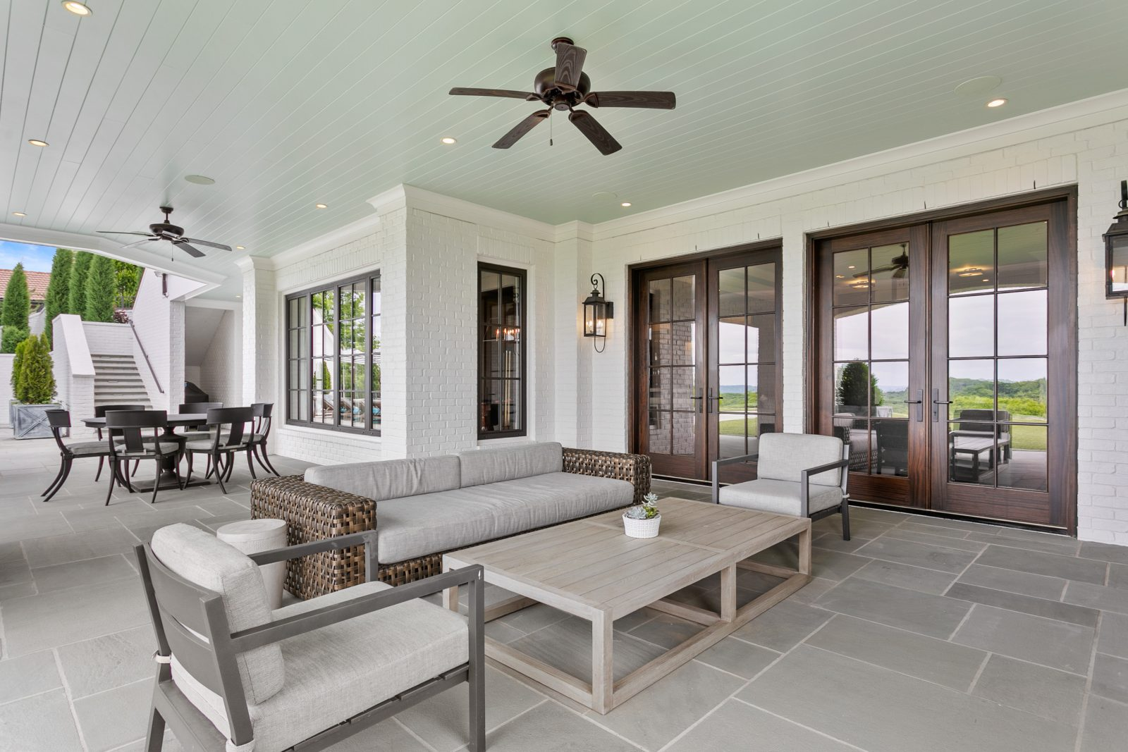 Sunroom at the Pagliara residence as another part of our Backyard Oasis series.