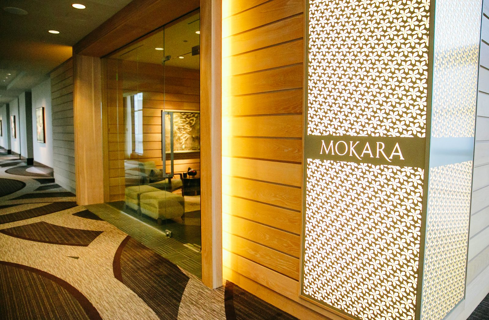 The Mokara luxury spa at the Omni Hotel in Nashville, TN