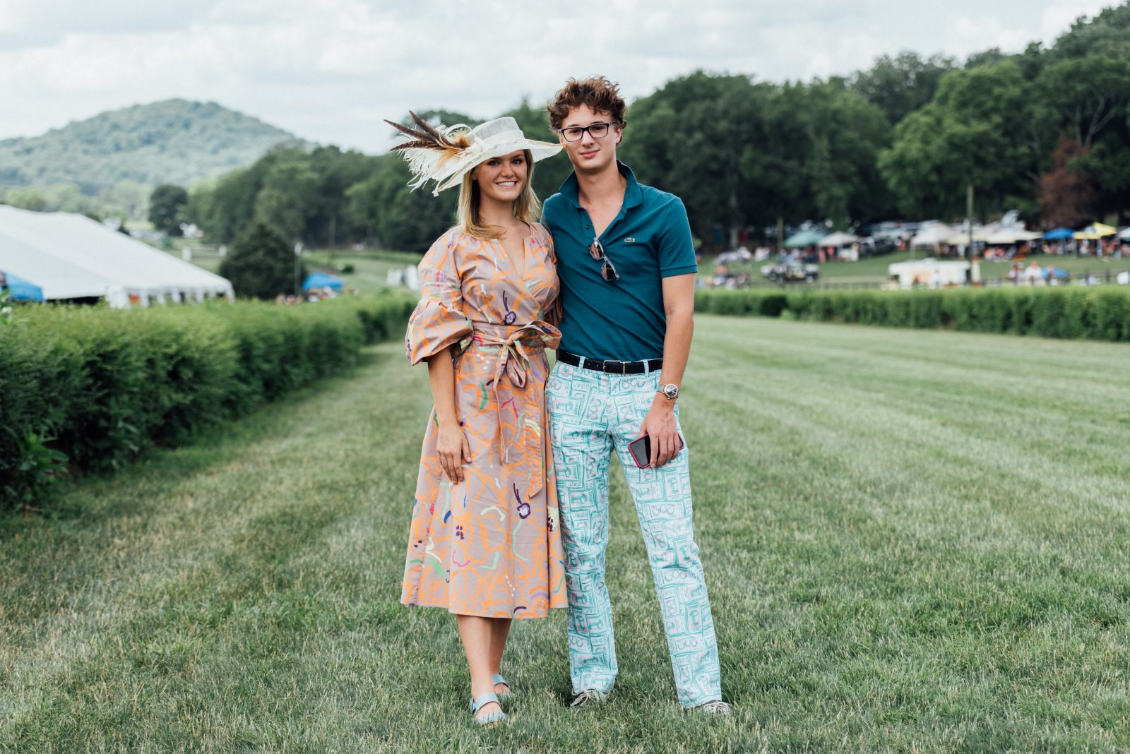 Katie Tanner and Westin Bate at TN Steeplechase 21