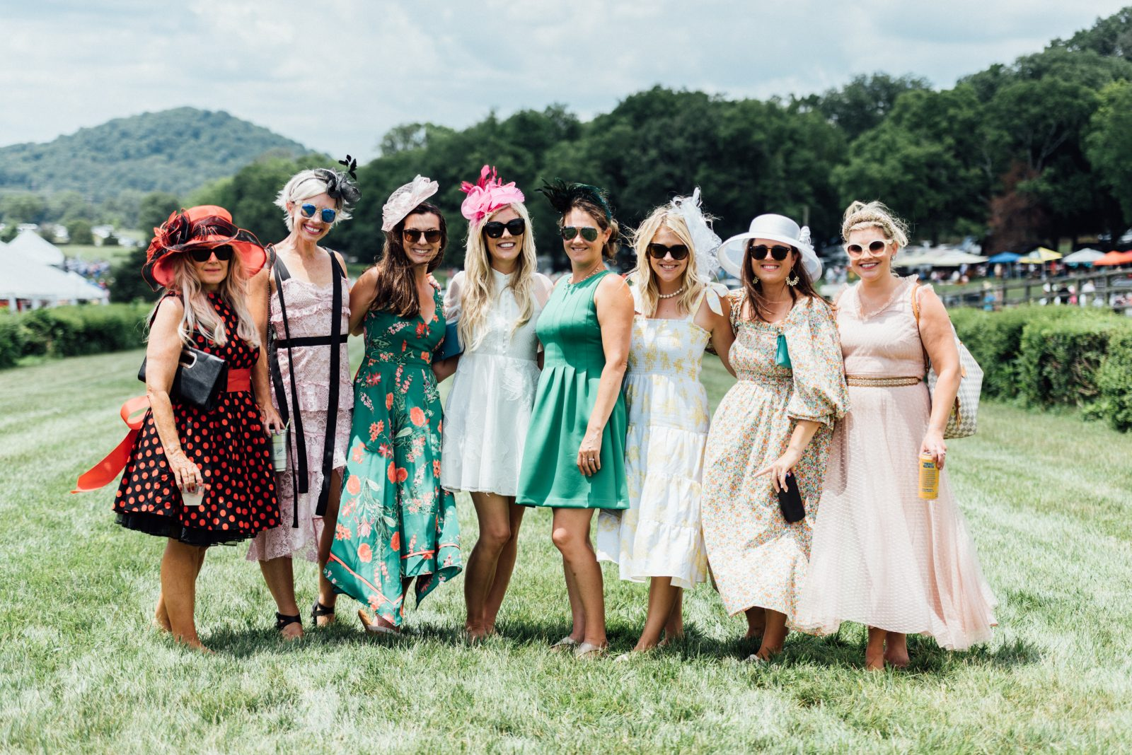Tennessee Steeplechase 2021, featured fashions