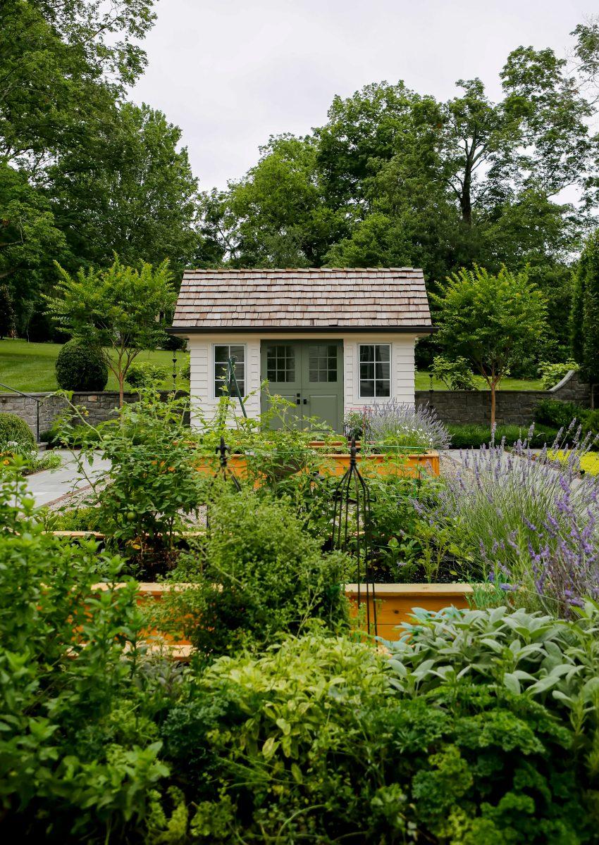 Hidden Oak Hill garden near Nashville TN