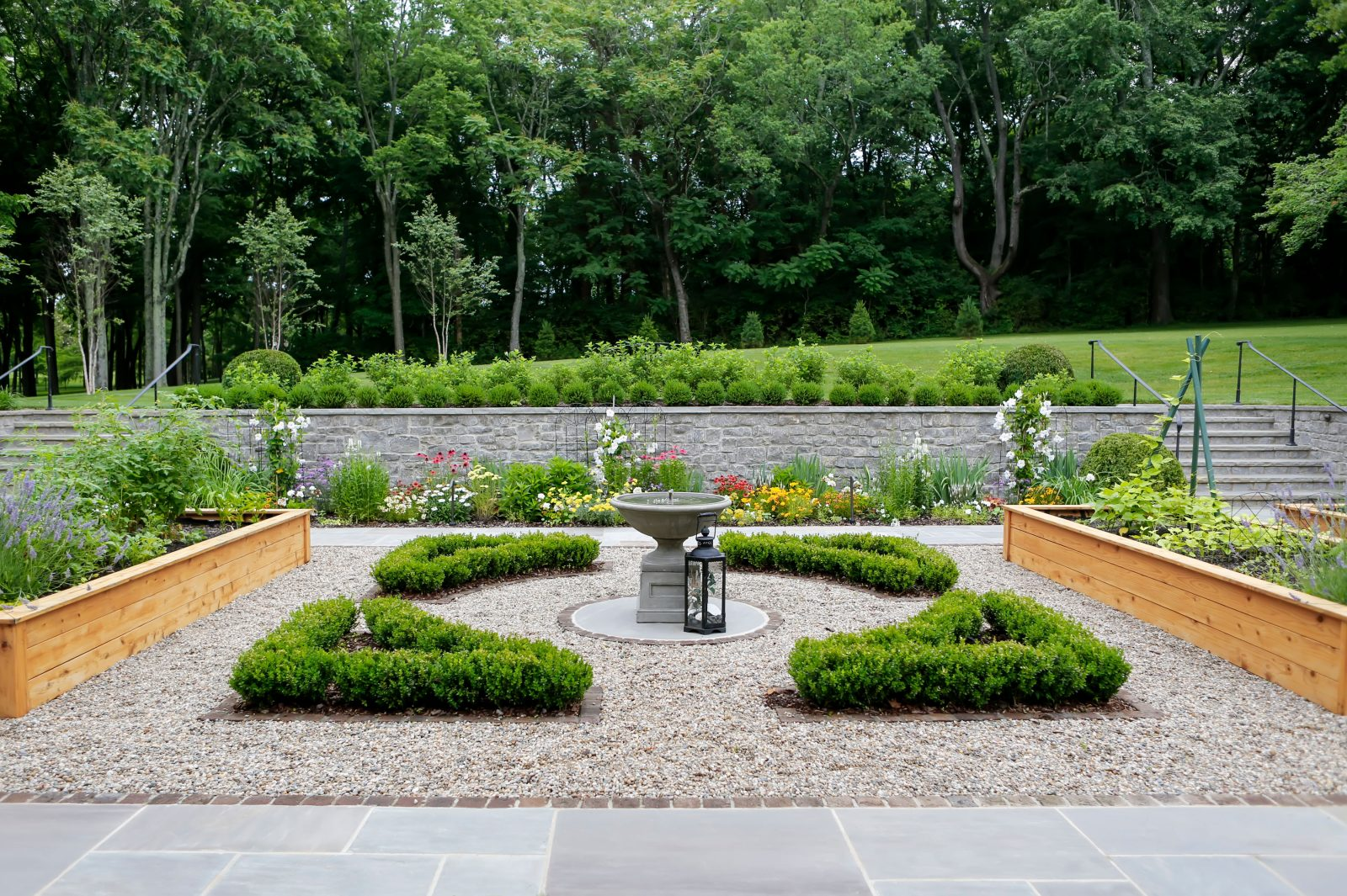 Anne and Donald Denmark's backyard garden hidden in Oak Hill