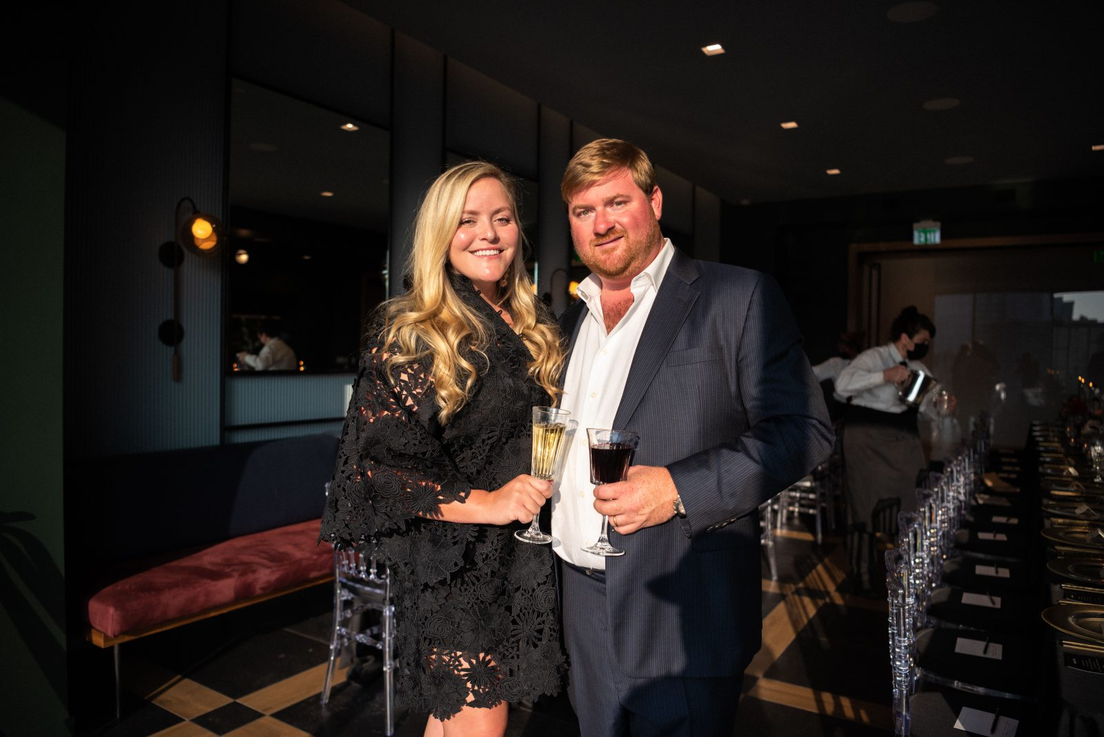 sarah lawrence drew lawrence fourth capital and the nashville edit seated dinner at fourth capital in downtown nashville for music city grand prix