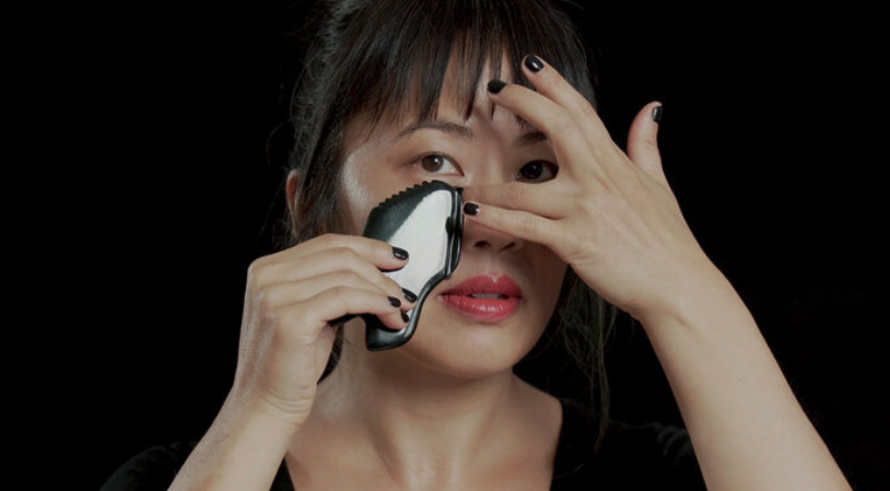 Lanshin Gua Sha tool Sandra Lanshin Chiu, L.Ac.