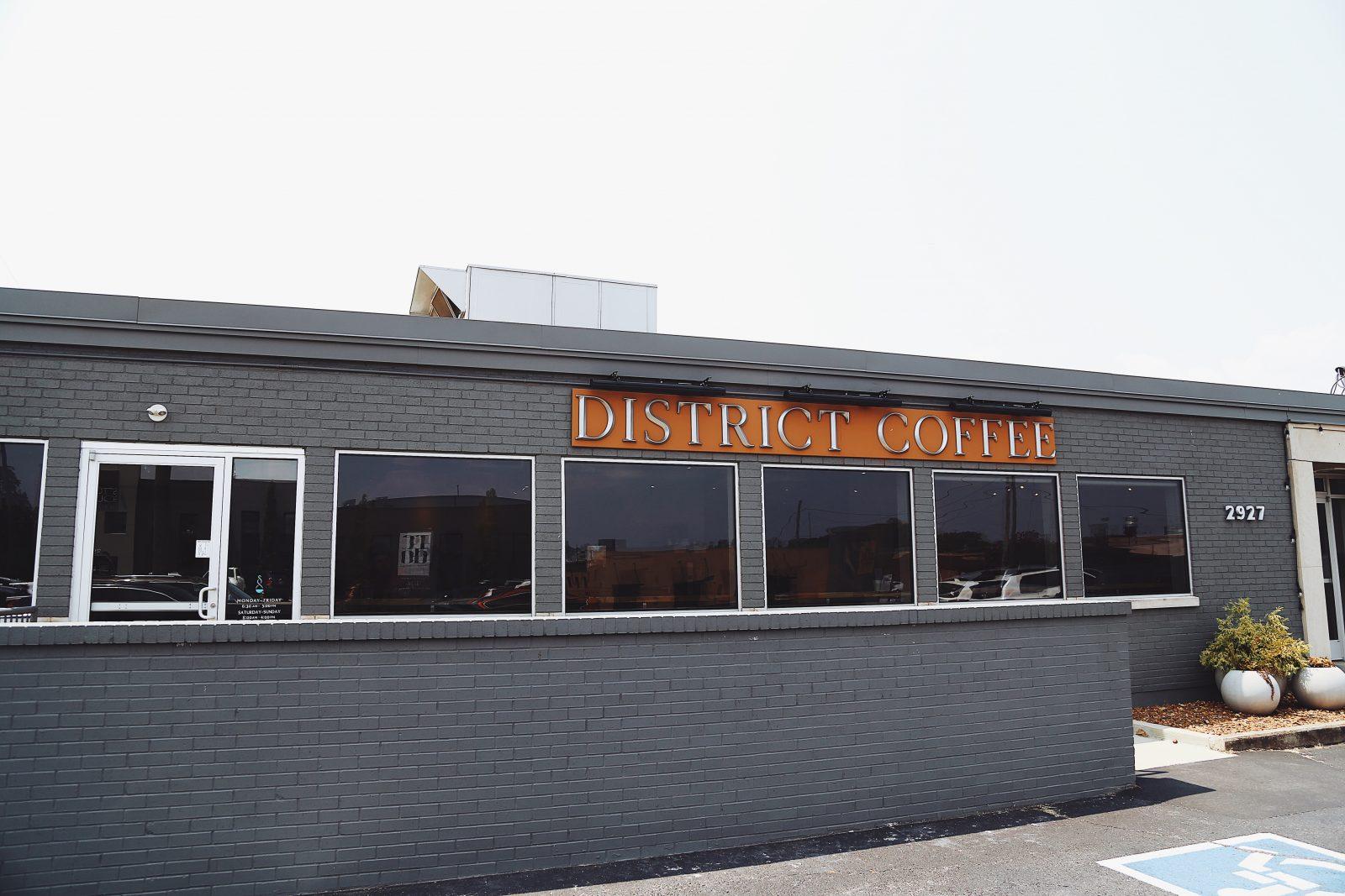district coffee craft coffee berry hill breakfast spot