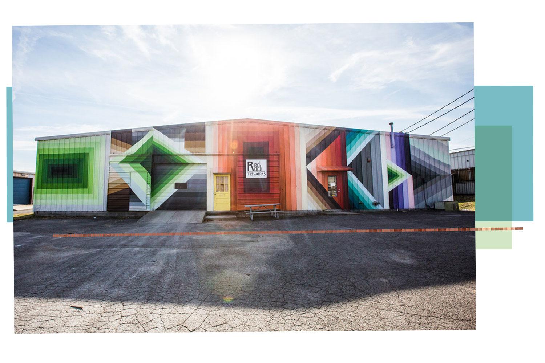Haustile Tile company in Berry hill the design district nashville