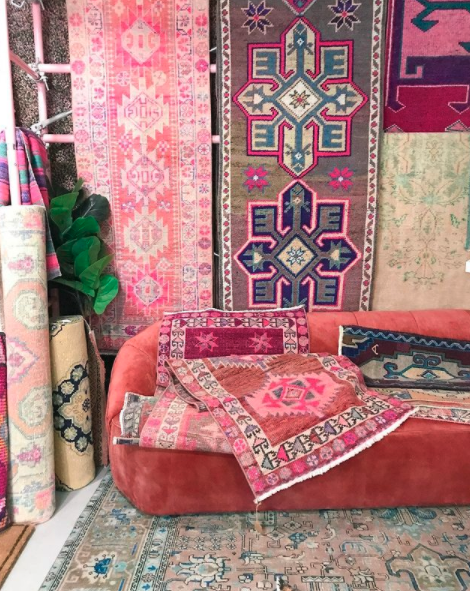 vintage rugs from apple and oak rugs east nashville